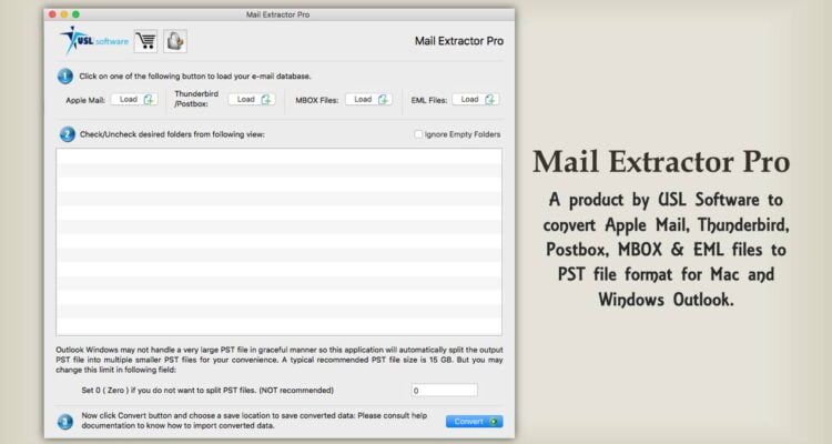 eml to pst converter for Mac tool